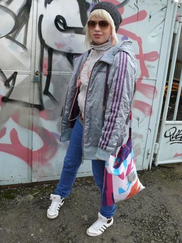Sash Artemeva - Adidas Top Ten Hi Sleek