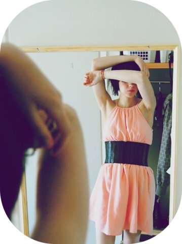 Susa P - Zara Dress, Gina Tricot Belt - I should be sleeping in your bed instead i'll crash on your floor