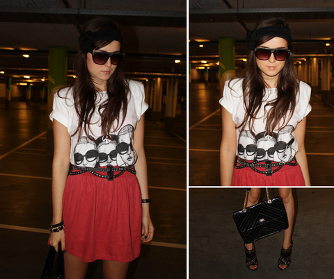 Andy T. - Girls In Glasses By Danny Roberts, Zipper Amsterdam Vintage Bag, Zara Skirt - GIRLS IN GLASSES BY DANNY ROBERTS