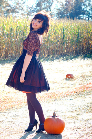 Keiko Lynn - Vintage Dress - Pumpkin Patch