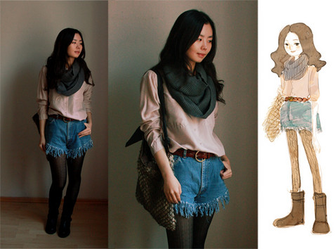 Nancy Zhang - Vintage Pants, Cos Shirt - Urban