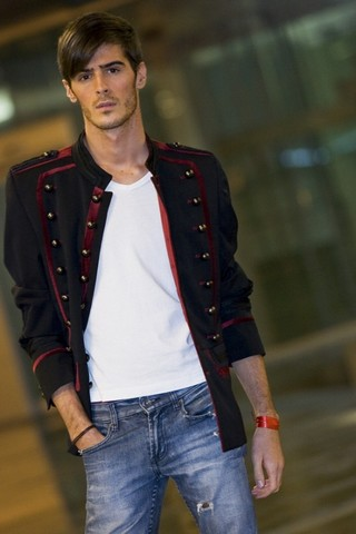 Gabriel Rodeiro - Zara Jacket, Topman Tee, Topman Jeans - Welcome to the circus
