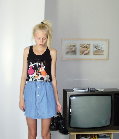 Evelina S. - Made It By Myself Skirt, H&M Top - Whistle