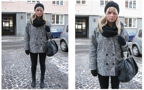 Sofie Ekstrom - Bik Bok Jacket - Cold as ice