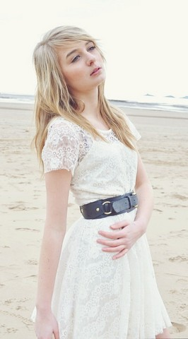 Joanna Lilly Felton - Tk Max Lace Dress, Gift For My Birthday Navy Belt - Loosing Hope