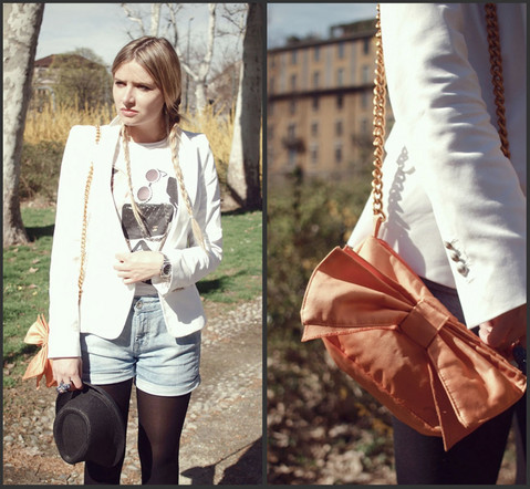 Veronica Ferraro - Casanita Bag, Zara Blazer - You left me in the past
