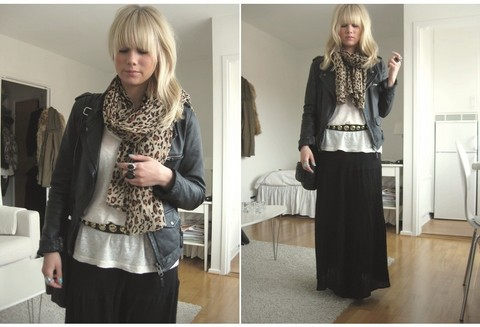 Sofie Ekstrom - Lindex Long Skirt, Zara Scarf - Look of today