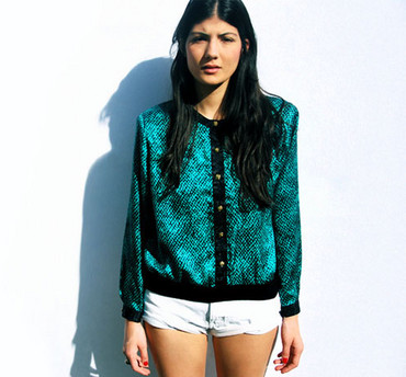 Zoey R - Sweater - Color of the sea http://closetcrayon.blogspot.com/