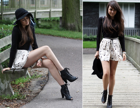 Andy T. - H&M Skirt/Shorts - ADDICTED TO THIS FEELING