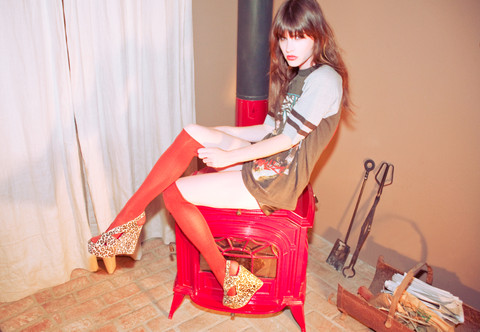 Wild At Heart - Jeffrey Campbell Shoes, Vintage Kiss Shiirt Shirt - Marry me, Jeffrey Campbell?