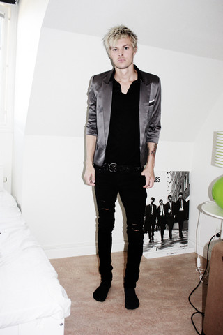 Fredric Johansson - Korea Short Sleeve Blazer, Korea Studded Belt - Whatever makes you feel happy...