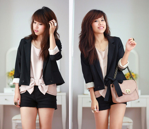 Linda Tran N - Topshop Blazer - A promise is a comfort for a fool