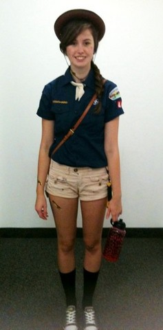 Emilie Y. - Vintage Boy Scout Shirt - Boy Scout for HALLOWEEN