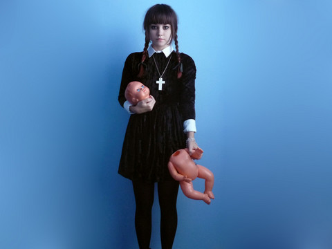 Veronika B - Dead Baby - My wednesday addams halloween costume