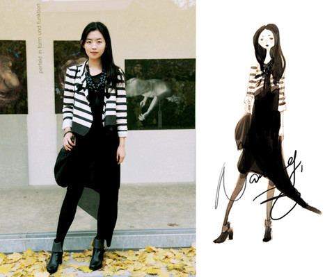 Nancy Zhang - Topshop Dress, Kookai Bag - Here today,Gone tomorrow