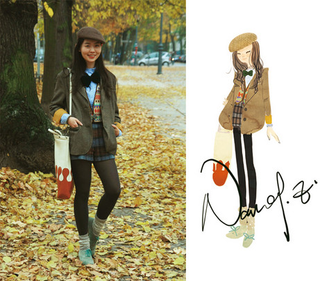 Nancy Zhang - Hugo Boss Blazer, A.P.C. Shorts, Cos Shirt, Jil Sander Shoes - I am a Geeky girl!:)