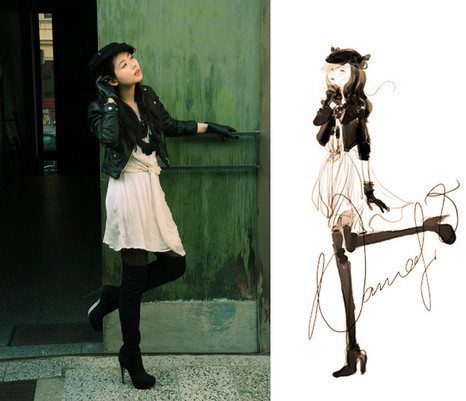 Nancy Zhang - H&M Jacket, Topshop Boots, Topshop Dress - As I feel,you feel