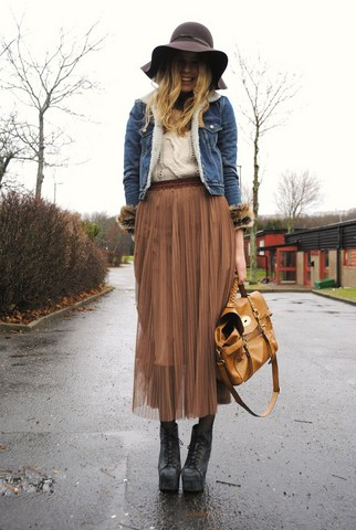 Frida Johnson - Jacket, Skirt, Shirt, Shoes, Bag - MY LOOK TODAY