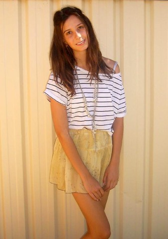 Veronika B - Cotton On Shirt, Globalise Skirt - Holidays are almost over