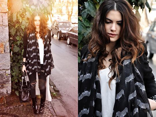 Rodebjer Knit, Mango Jacket, Chanel Bag, Weekday Dress
