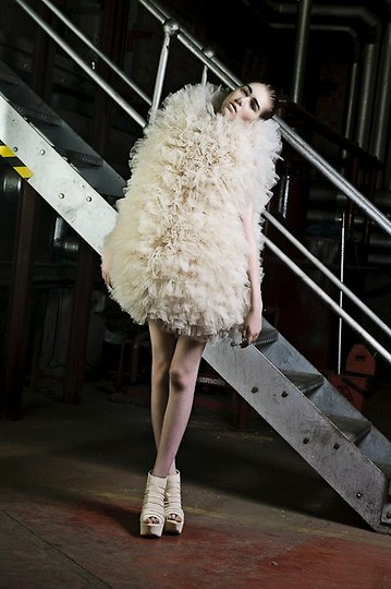 Sophie Bailey - Sean Denham Dress - Candyfloss on legs