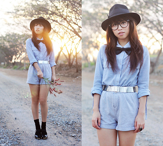 Linda Tran N - Armani Exchange Shirt, Forever 21 Shorts - We'll never be younger than we are right now...