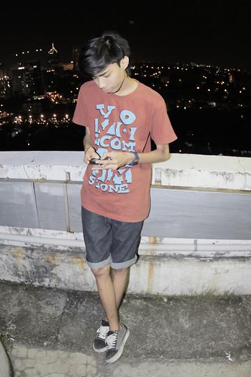 Dimas Ngrho - Levi's® Walk Shorts, Vans
