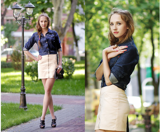 Katerine Shemyakina - Dorothy Perkins Bag, Replay Cotton Jacket, H&M Skirt, Dorothy Perkins Shoes - Dreaming