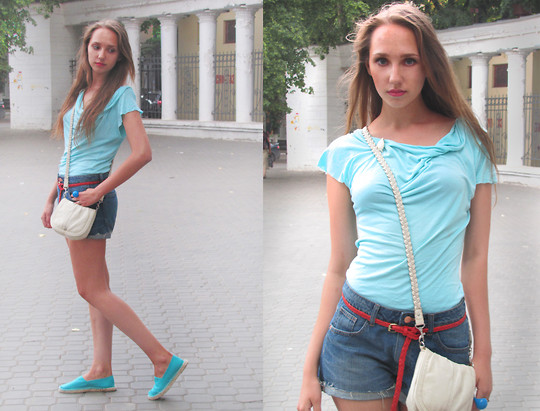 Katerine Shemyakina - H&M Shorts, H&M Bag, H&M Belt, New Look Espadrille - Who I Am
