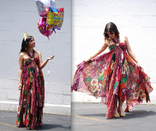 Kendra M - Free People Maxi - Happy Birthday To Me!