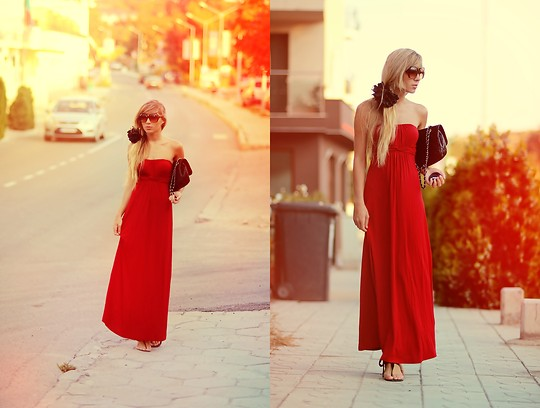 Keidy Kelen -  - RED DRESS / day 2 in bulgaria))
