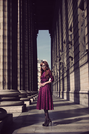 Louise Ebel - Vintage Dress, Alaïa Shoes - Madeleine.