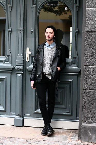 Dustin H. - Cos Beanie, Gina Tricot Pullover, H&M Jeans - Weandyou