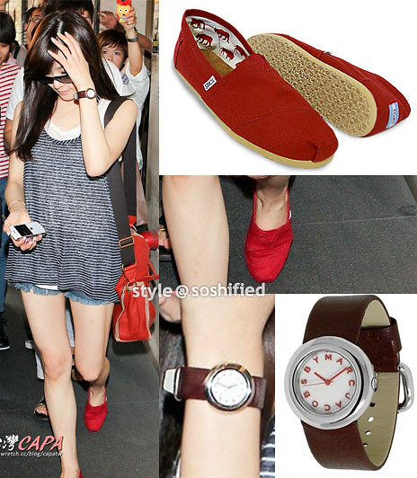 Marc By Jacobs Marci Watch, Toms Red