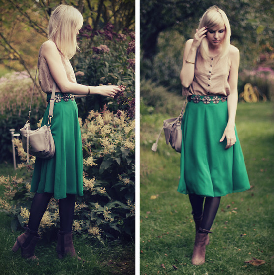 Jana Wind - Minkpink Top, Primark Skirt, Boradaisy Bag, Friis & Company Shoes - Listen death from above