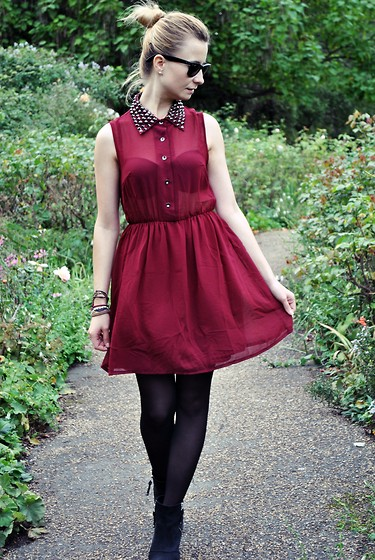 Cassia * - Goldie London Dress, Topshop Boots - I'm tider of dancing here all by myslef!