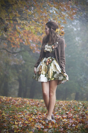 Kaylee H - Handmade Dress - Foggy Evening