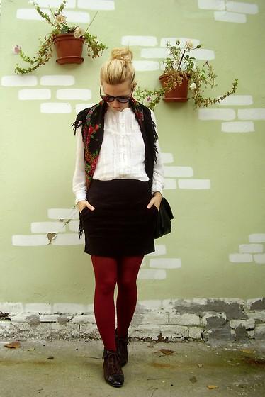 Kapongpeang K H Amp M Striped Top Maxi Black Skirt Clarks
