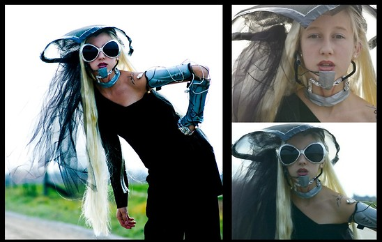 Lauren J - Diy Hat, Neckpiece, Robot Arm - You and I - GAGA