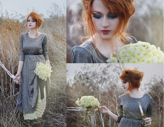 Alina K. - Vintage Dress - Bony-man lover.