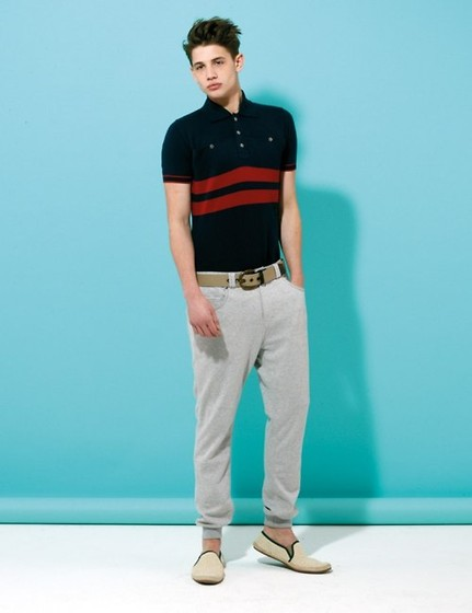 Dominic Nutt - Toms Shoes, Chinos, Polo Shirt, Belt - Brighten up the winter blues