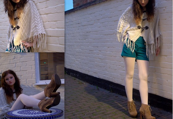 Annabelle Mackay - Miss Selfridge Boots, Primark Shorts, Primark Tights - I LOVE YOU BETTER NOW