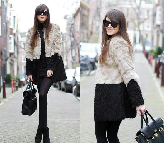 Zina CH - Chanel Bag, Zara Dress, Topshop Wedges - Paris