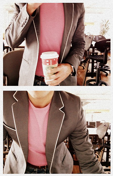 EDUARDO ZARZA - H&M Blazer, Massimo Dutti Belt, Zara Tshirt - Clear as a crystal, sharp as a knife.