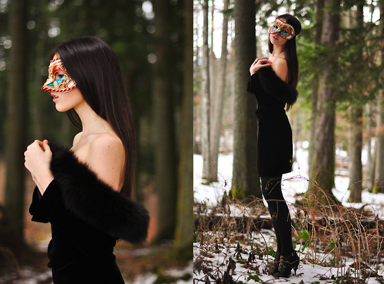 Doina Ciobanu - Vintage Dress - MAGIC FOREST