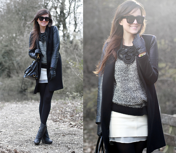 Andy T. - Zara Coat, Rebecca Minkoff Bag, Balenciaga Boots - JUST MY TYPE