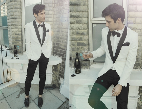 Adrian Cano - White Tuxedo - And though it's hard for me to say, I know you're better off