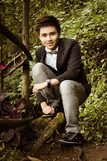 Kojin Domingo - Shoes, Sm Accesories Bowtie - Wilderness