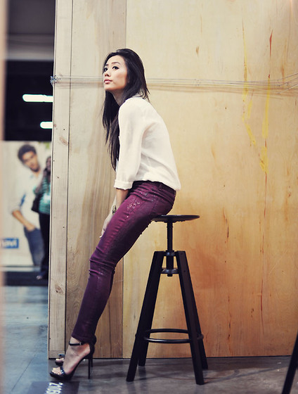 Jenny Ong - Kasil Workshop Black Orchid, Skinnies - PROJECT