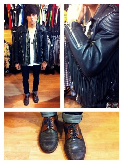 Kevin Andrade - Vintage Perfecto, Cheap Monday Jean, Vintage Derby - Vintage store